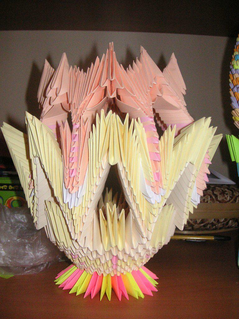 Оригами. Ваза