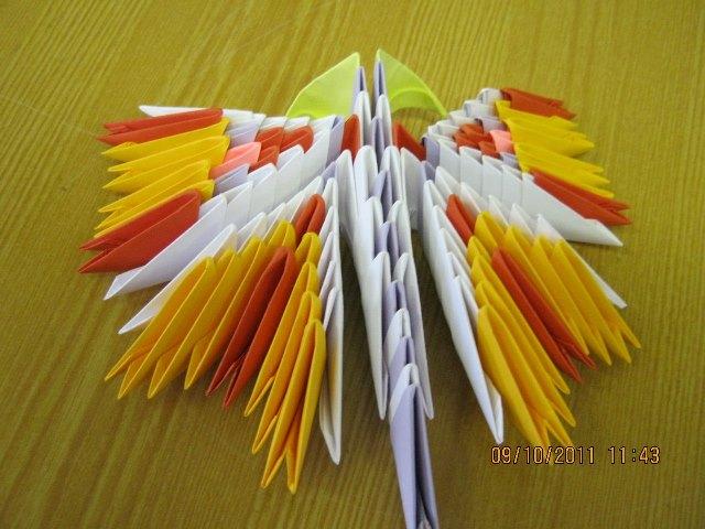 Оригами. Бабочка.