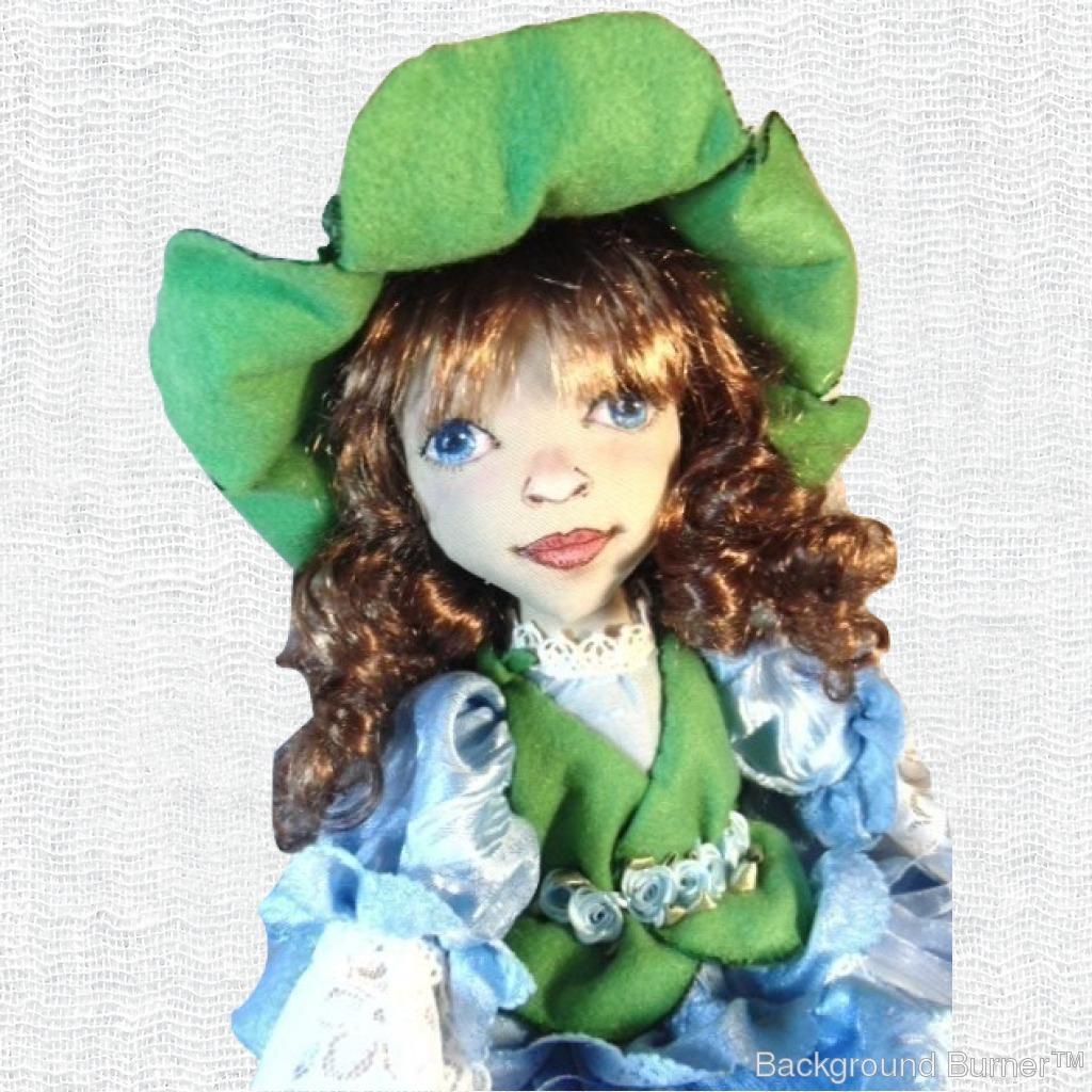 Как сделать кукол из цветов 132