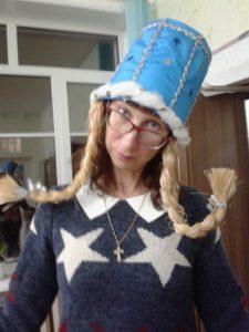 Шляпа - ведерко Снеговика.