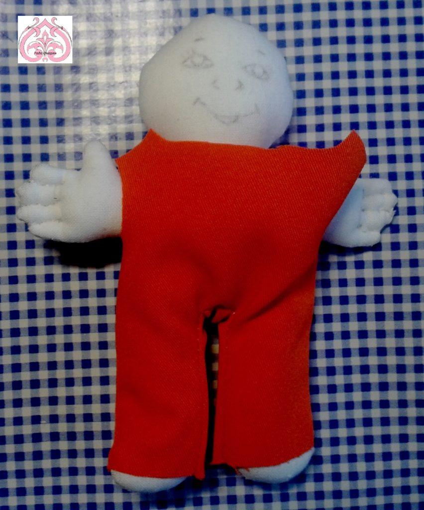 Комбинезон для куклы Вторник.
