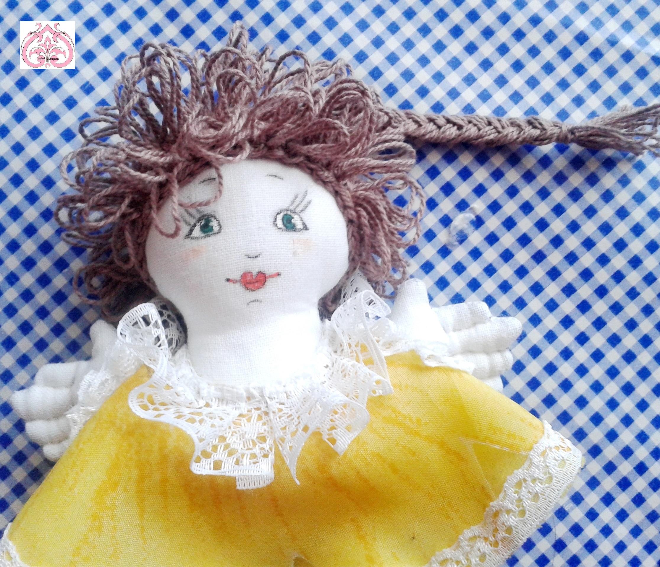 Кукольные волосы.