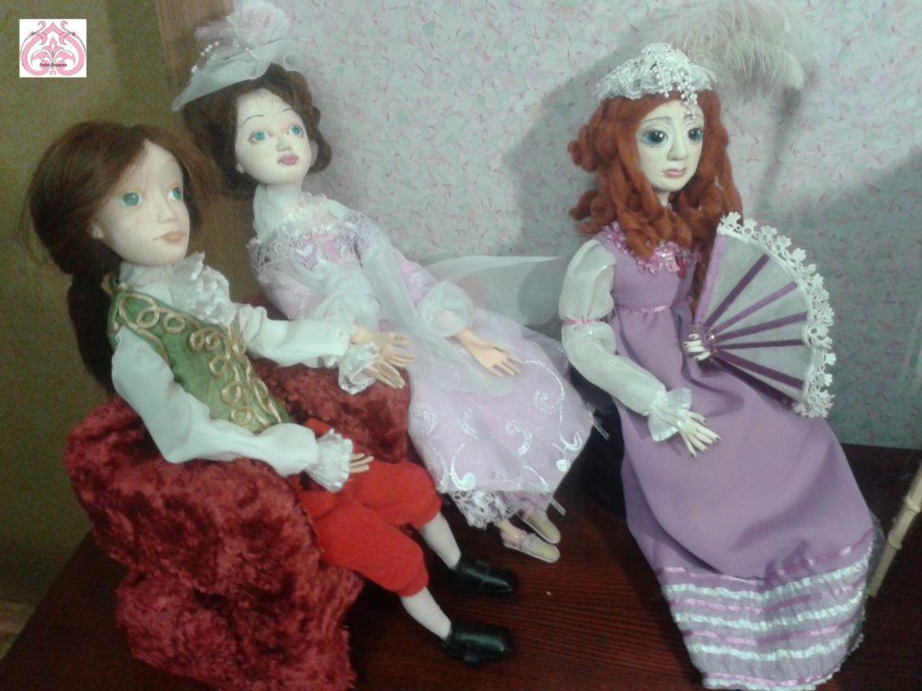 Кукольный музыкальный салон.