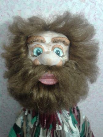 Двуликая кукла для театра