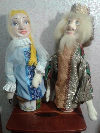 Куклы для театра своими руками.