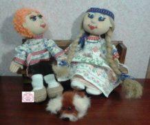 «История одной кукольной выкройки».